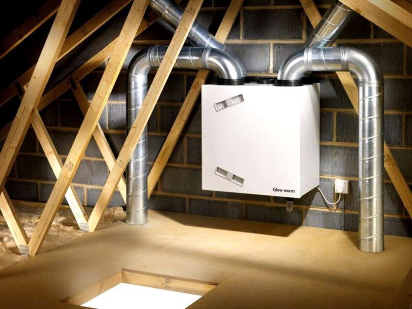 Чистка вентиляції від пилу в приватних будинках