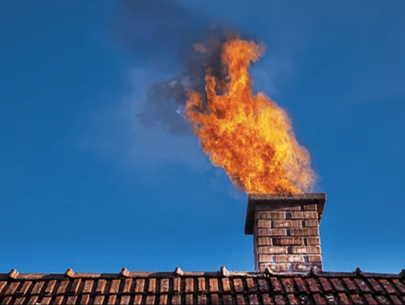 Чому не можна допускати загоряння сажі в димоході